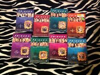 Friends The Complete Series Collection DVD Bundle Lot Seasons 1-8