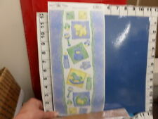 11 sheets of stickers on a roll baby boy bottle rocking horse botties  34v