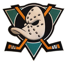 "1993-2005 ANAHEIM MIGHTY DUCKS NHL HOCKEY HOME TEAL GREEN 10"" JERSEY PATCH"