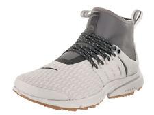 Nike Air Presto Mid Utility Premium Light Bone Medium AA0674 001 Multiple Sizes