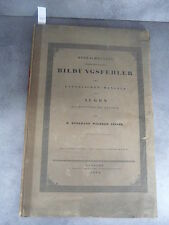 D. Burkhard Wilhelm Seiler Bildungsfehler Monoyer ophtalmologie optique médecine