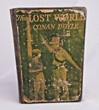 The Lost World A. Conan Doyle Antique Hardback Book