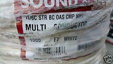 Southwire/Tappan P40040 575713 18/6C Plenum Str Shield Media/Comm Cable /100ft