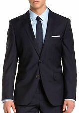 HUGO BOSS Two Button Striped 100% Wool Suits for Men
