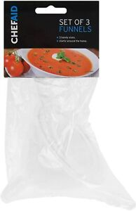 Chef Aid Set of 3 Funnels