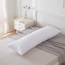 "Hypoallergenic Bed Sleeping Side Sleeper Body Pillow Insert, Long 20"" x 60"""