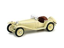 Alfa Romeo 1750 GS 1931 Zagato Ivory 1:43 Model BRUMM
