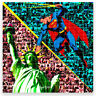 MARIA MURGIA -  Serie supereroi: Superman - Fotomosaico digitale cm 50x50