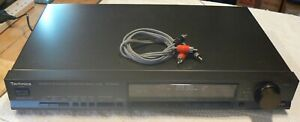 Technics STG-560L Hifi Analogue Tuner, With Mains And Audio Cables,Used .