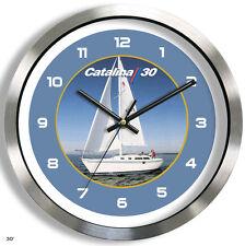 CATALINA 30 METAL WALL CLOCK yacht boat 30 ft sailboat