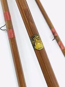 HORROCKS IBBOTSON CO. FLASH BAMBOO 9' FLY ROD UTICA N.Y. VINTAGE ANTIQUE FISHING