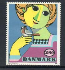 DENMARK MNH 1986 SG815 GIRL WITH BIRD