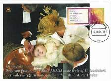 Kaart Royalty 2004 - Ned.Antillen - Doop Prinses Catharina Amalia (roy033)