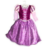 Disney Store Authentic Tangled Rapunzel Princess Costume Dress Size 11/12 13