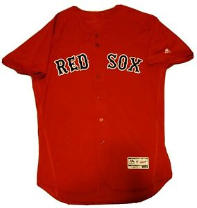 Christian Vazquez Boston Red Sox Team Issued 2017 Home Jersey MLB Authenticated