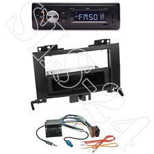Caliber RMD022 Radio orange + VW Crafter 2-DIN Blende schwarz + Quadlock-Adapter
