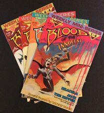 BLOOD OF THE INNOCENT #1 - 4 Comics FULL SERIES Jack the Ripper DRACULA 1986 VF