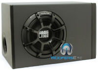 "ALPINE PWA-S10V 10"" SUB 750W ENCLOSED SUBWOOFER BASS SPEAKER BOX AMPLIFIER NEW"