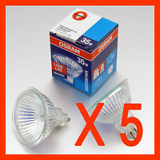 x 5 OSRAM Halogen Downlights  MR16 35 W 12V GU 5.3  Down Light Bulbs  Downlight