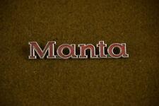 1970 1971 1972 1973 1975 1975 Manta Emblem Script Badge B1