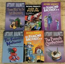 1-6 DIAMOND BROTHERS BOOKS by ANTHONY HOROWITZ  ** £3.25 UK POST ** PAPERBACK