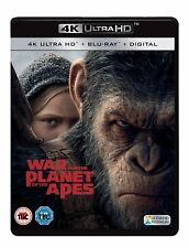 War for the Planet of the Apes 4K UHD Ultra HD - Blu Ray - Brand New & Sealed