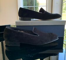 Brooks Brothers Black Suede Loafers (With Box!) $300