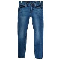 J. Crew Womens Midrise Toothpick Skinny Jeans Size 26 Regular