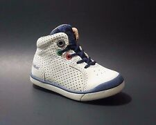 New KICKERS Baby Boys Sneakers Shoes LEATHER Size 3,5 USA/19 EURO.FREE RETURN