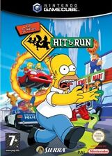 THE SIMPSONS HIT AND RUN GAMECUBE GAME PAL