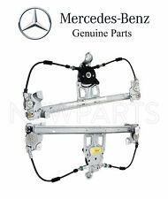 Mercedes W140 Set of Two Rear Window Regulators without Motor Electric Genuine