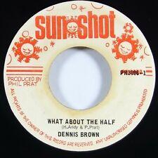 "Dennis Brown ""What About The Half"" Reggae 45 Sunshot mp3"