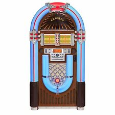 Crosley CR1206A-WA iJuke Bluetooth Deluxe Full Size Jukebox - Walnut