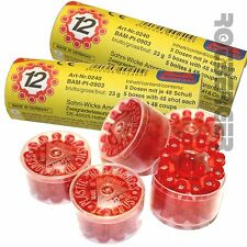 720 Schuss / 3 Rollen 12-Schuss-Ringmunition EURO CAPS Sohni-Wicke Ring Munition