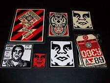 Shepard Fairey Obey Giant Sticker Set 11-Propaganda, obedecen a 89, Ingeniería