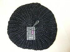 femmes noir bonnet bonnet béret - Taille Unique - Tout Nouveau