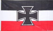 NEW 3ftx5ft GERMAN NAVY JACK IRON CROSS FLAG better quality usa seller