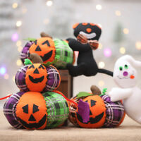 LN_ CUTE HALLOWEEN DECORATION CLOTH PUMPKIN CAT GHOST PLUSH TOY PARTY ORNAMENT
