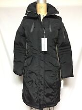 Andrew Marc Skate Down Coat XS Black   New w/ Defects