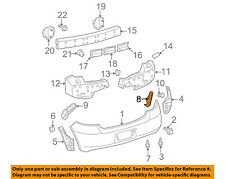 TOYOTA OEM 07-11 Yaris Rear Bumper-Side Support Right 5257552111