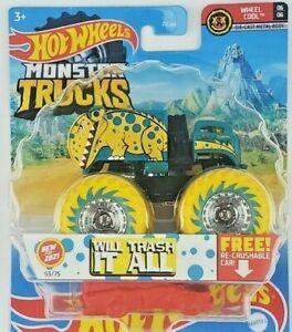 Hot Wheels Monster Trucks Will Trash It All 53/75