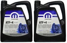 2x Mopar Atf+4 5l Automatic Gearbox Oil 68218058aa New