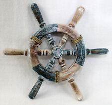 perfekt für die maritime Dekoration Brieföffner Messing /& Holz