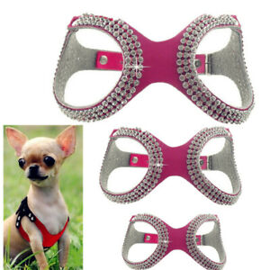 Extra Small Dog Harness Soft Vest XXXS/XXS/XS Pet Collar for chihuahua yorkie