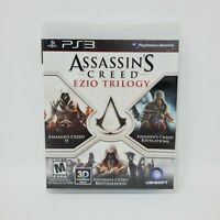 Assassin's Creed: Ezio Trilogy (Sony PlayStation 3, 2012) Complete Manual Tested