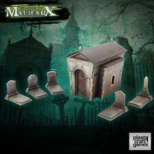Plast-Craft Scenery Graveyard Set