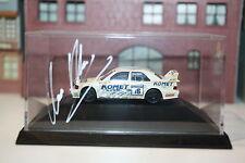 """Mercedes 190 E 2.5-16 EVO II """"Komet mit Autogramm Alze"""" i.PC-Box (Herpa/Hö/PC326"""