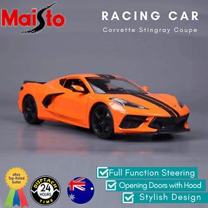 Maisto Chevrolet Corvette Stingray Coupe Car Model 1:18 Scale Die Cast 2020