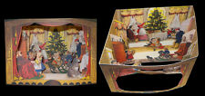 Cartolina diorama Albero di Natale biglietto auguri regalo gift christmas tree