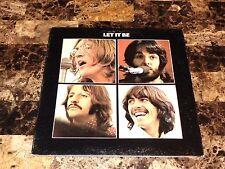 The Beatles Rare Let It Be Vinyl LP Record Paul McCartney John Lennon Ring Starr